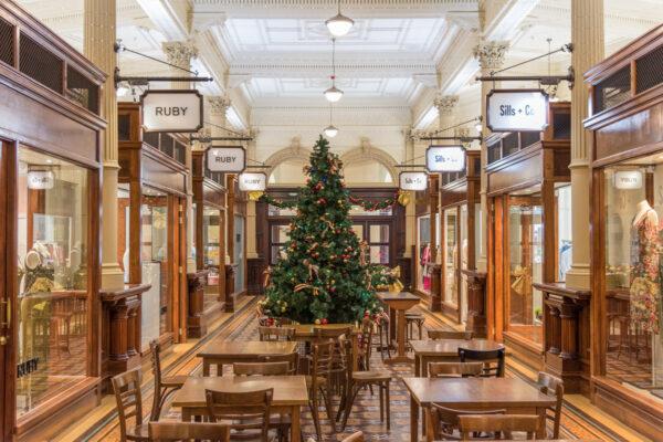 Galerie commerciale dans le centre de Wellington