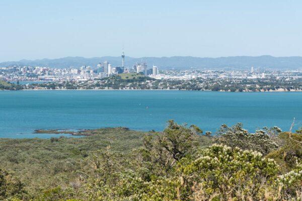 Auckland depuis Rangitoto Island