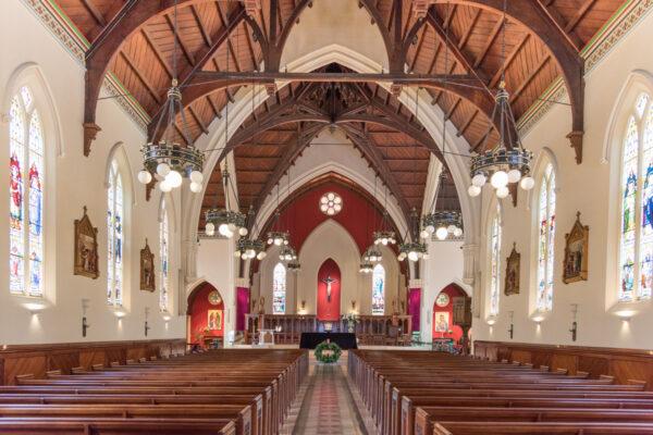 Cathédrale St Patrick à Auckland en Nouvelle-Zélande