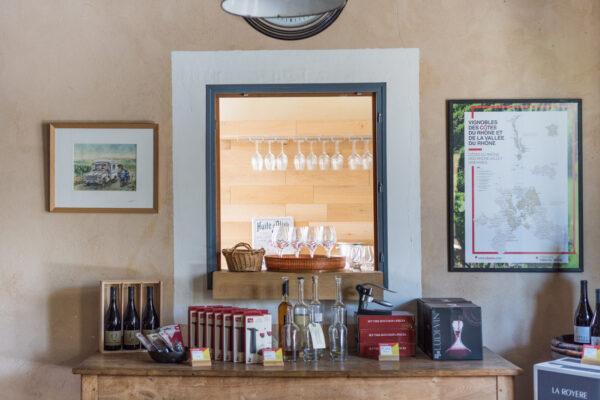 Dégustation de vin du Luberon
