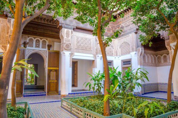 Palais de la Bahia : à visiter à Marrakesh
