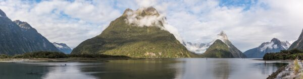 Panorama de Milford Sound
