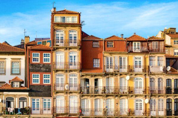 Quartier de la Ribeira à Porto