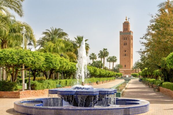 Visite de Marrakech : Mosquée Koutoubia