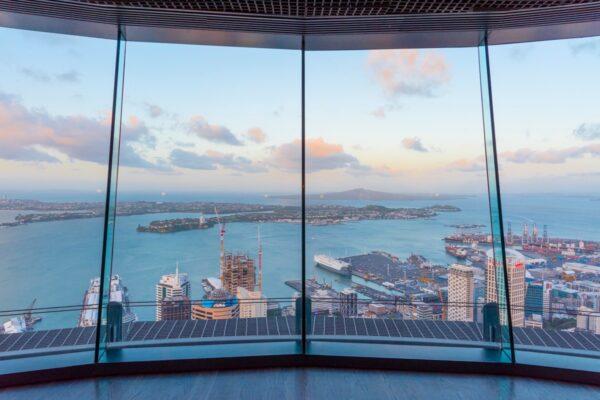 Visite de la Sky Tower à Auckland