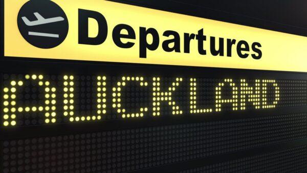 Vol pour Auckland en Nouvelle-Zélande