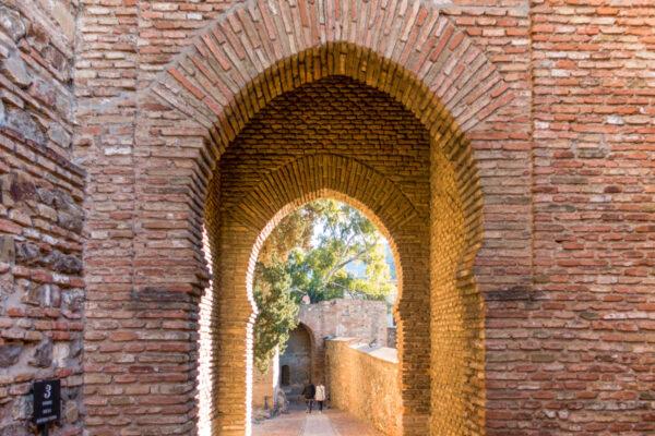 Alcazaba de Malaga, proche du centre ville