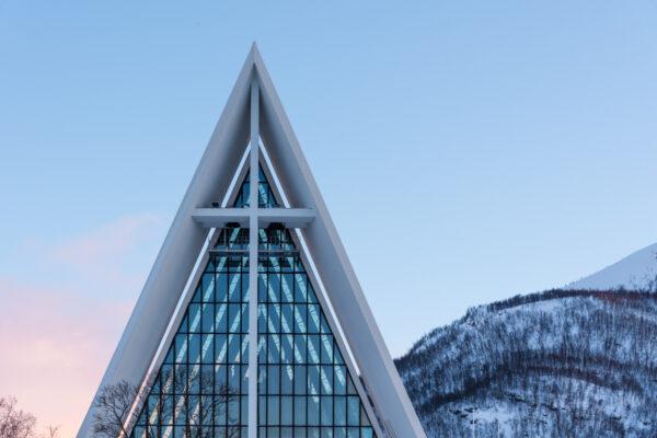 Cathédrale arctique de Tromso