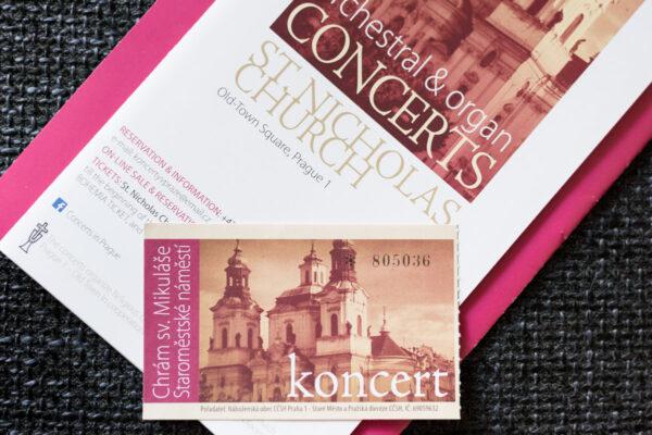 Concert dans une église de Prague