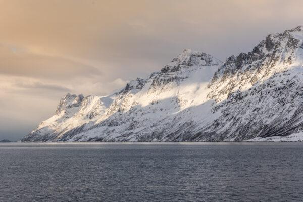 Ersfjordbotn, fjord proche de Tromso