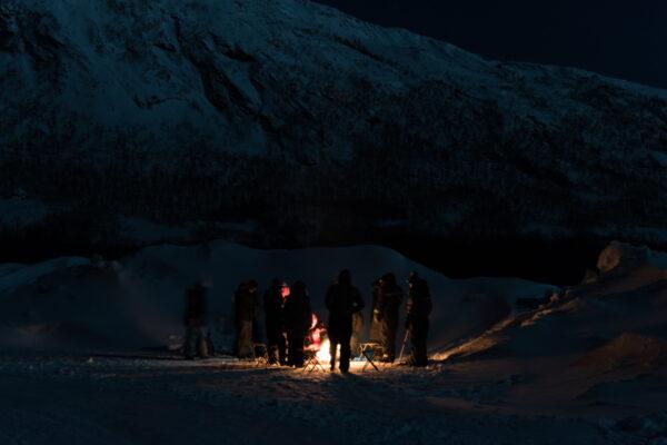 Excursion depuis Tromso : observation des aurores boréales