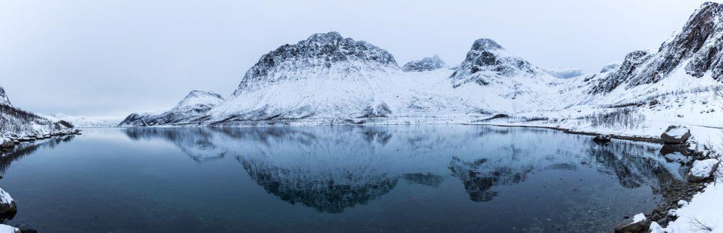 Fjord proche de Tromso