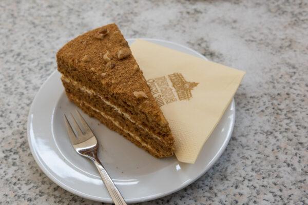 Honey cake à Prague