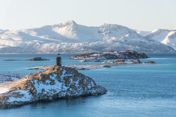 Île de Sommaroy en Norvège