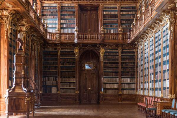 Bibliothèque du monastère de Strahov à Prague
