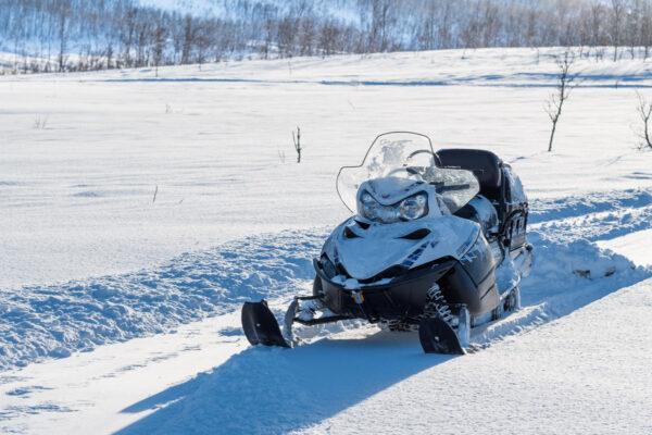 Motoneige à Tromso