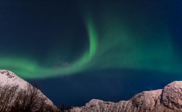Où voir des aurores boréales autour de Tromso en Norvège