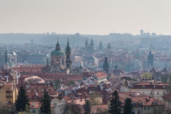Panorama sur Prague