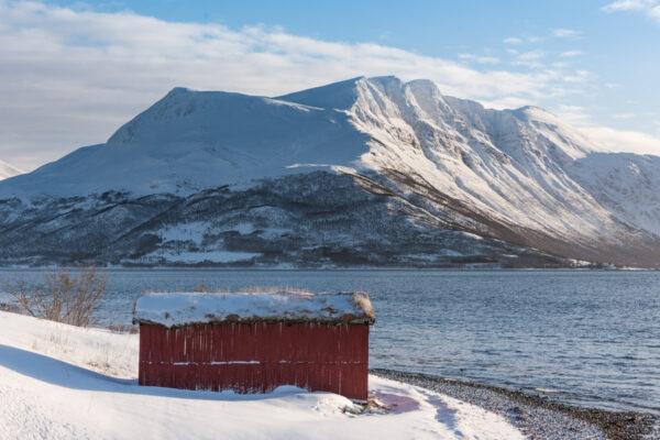 Paysage proche de Tromso