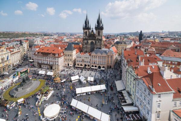 Place de la Vieille Ville à Prague
