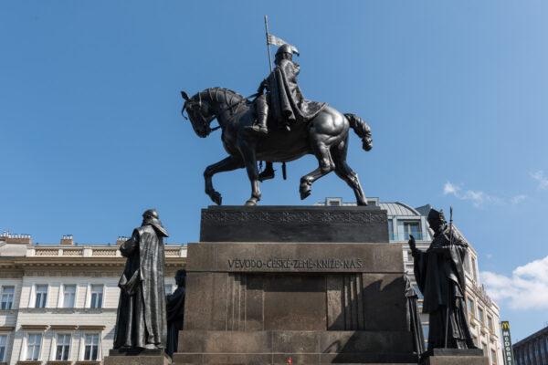 Place Venceslas à Prague
