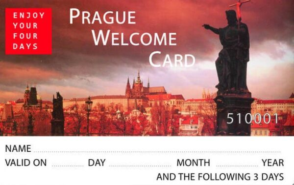Prague Welcome Card ou Prague Card
