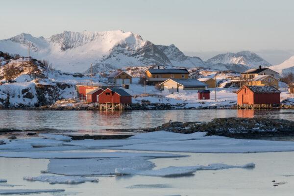 Sommaroy, village en Norvège