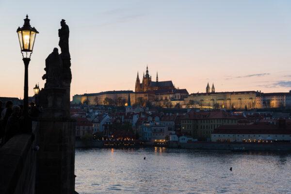 Sunset à Prague