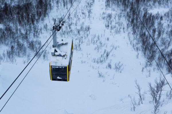 Téléphérique à Tromso
