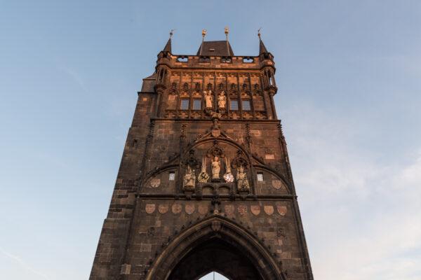 Tours du Pont Charles à Prague