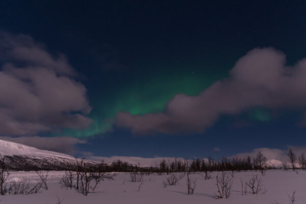 Voir des aurores boréales en Norvège