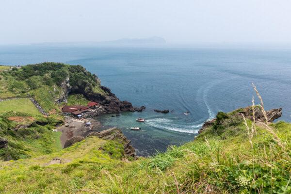 Côte de l'île de Jeju en Corée du Sud