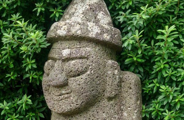 Dol Hareubang, statue à Jeju