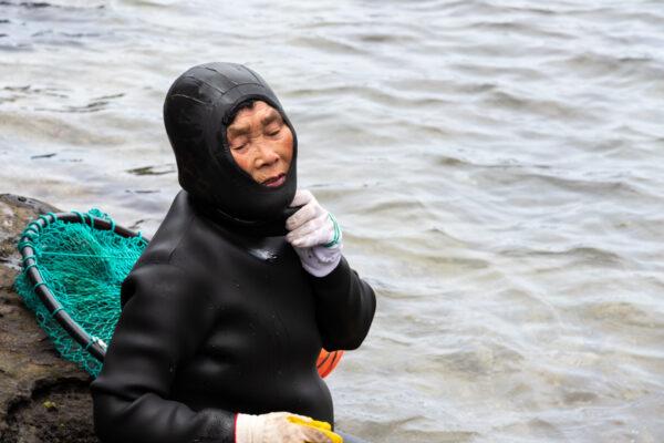 Haenyeo, femme plongeuse à Jeju Island