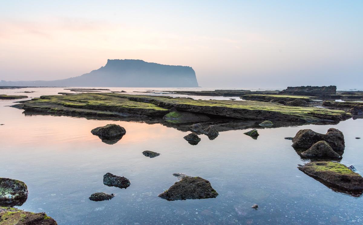 Île de Jeju en Corée du Sud