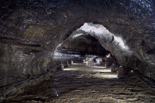 Grotte de Manjanggul à Jeju Island