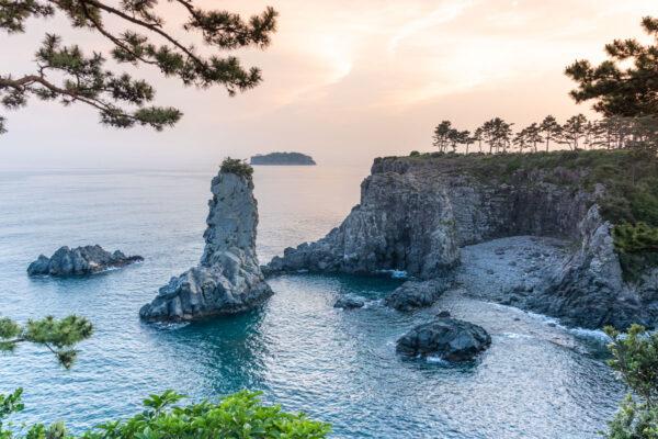 Oedolgae rock à Jeju