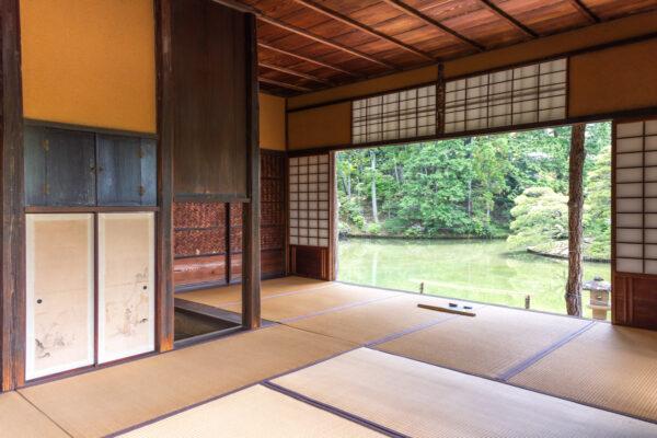 Pavillon de la villa Katsuri à Kyoto