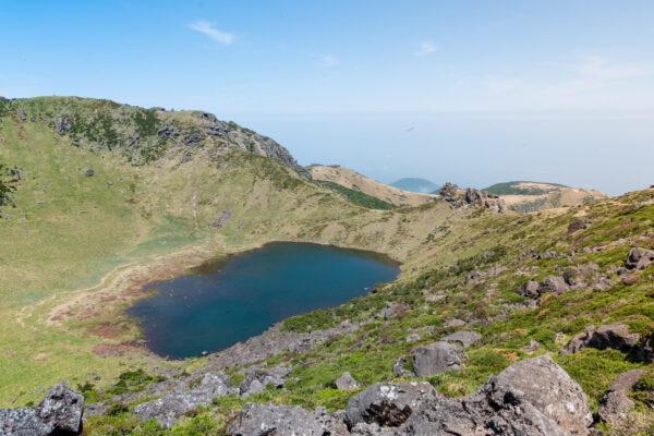 Sommet du Mont Hallasan à Jeju