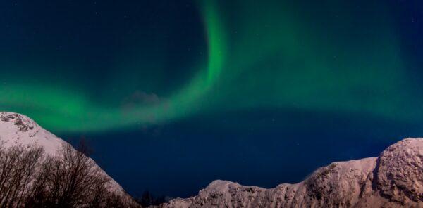 Aurore boréale à Tromso