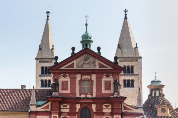 Basilique Saint-Georges à Prague