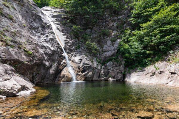 Biryong Falls à Seoraksan