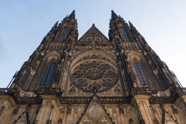 Cathédrale Saint-Guy dans le château de Prague