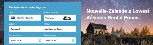 Comparateur de location de camping car