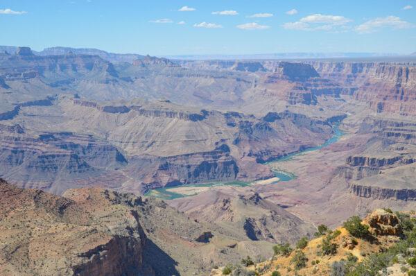 Desert View Drive et ses points de vue sur le Grand Canyon