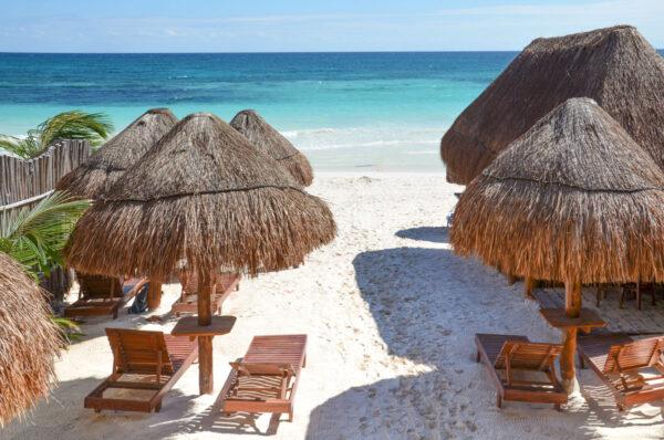 Dormir à Tulum en bord de plage