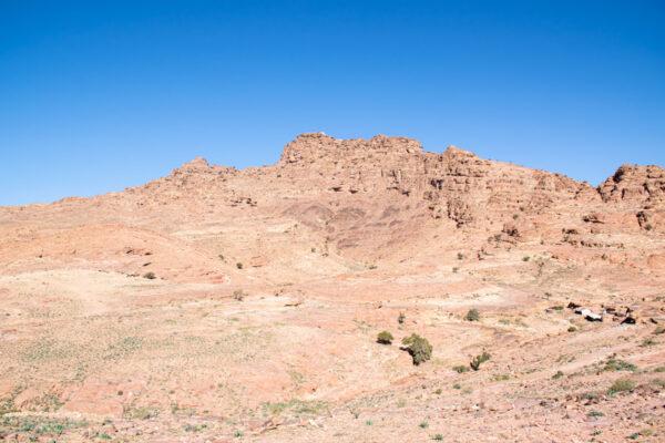 Jebel Haroun en Jordanie