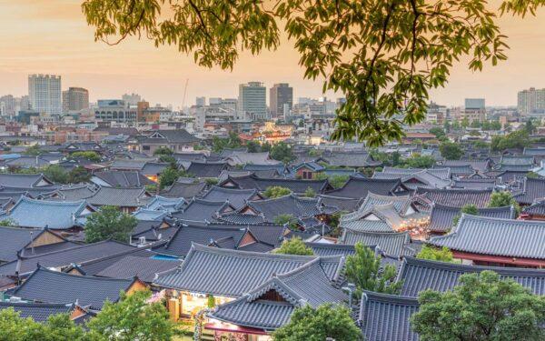 Jeonju en Corée du Sud