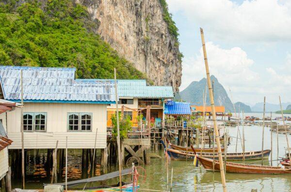 Koh Panyi dans la baie de Phang Nga