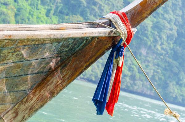 Long tail boat dans la baie de Phang Nga et à James Bond Island